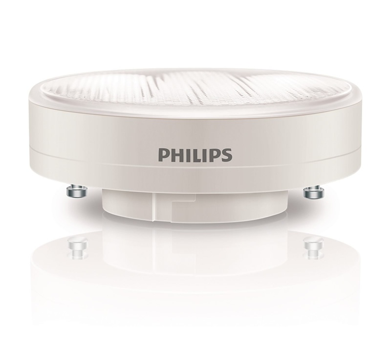 philips downlighter spot conomie d 39 nergie 9 w blanc chaud culot gx53 technibat. Black Bedroom Furniture Sets. Home Design Ideas